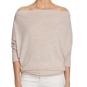 NWT Free People Valencia Off-the-Shoulder Pullover